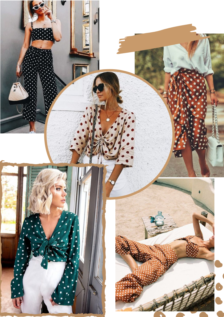 Polka dots Outfits Ideas