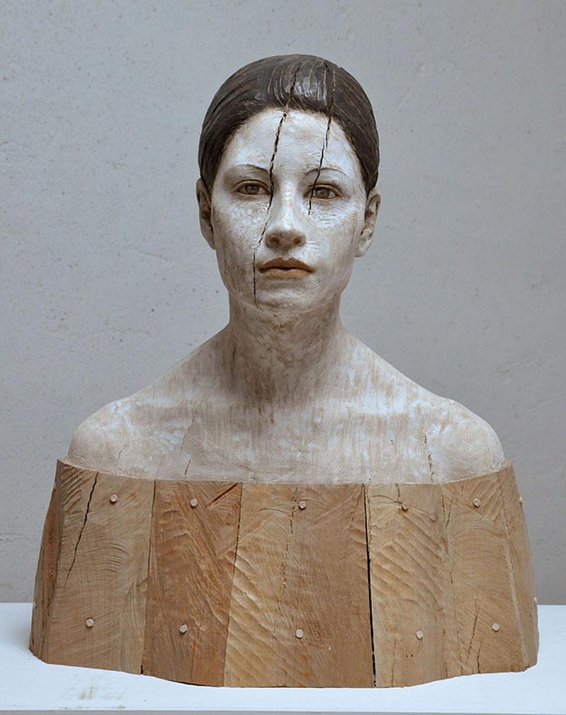 Bruno Walpoth Wood Sculptures