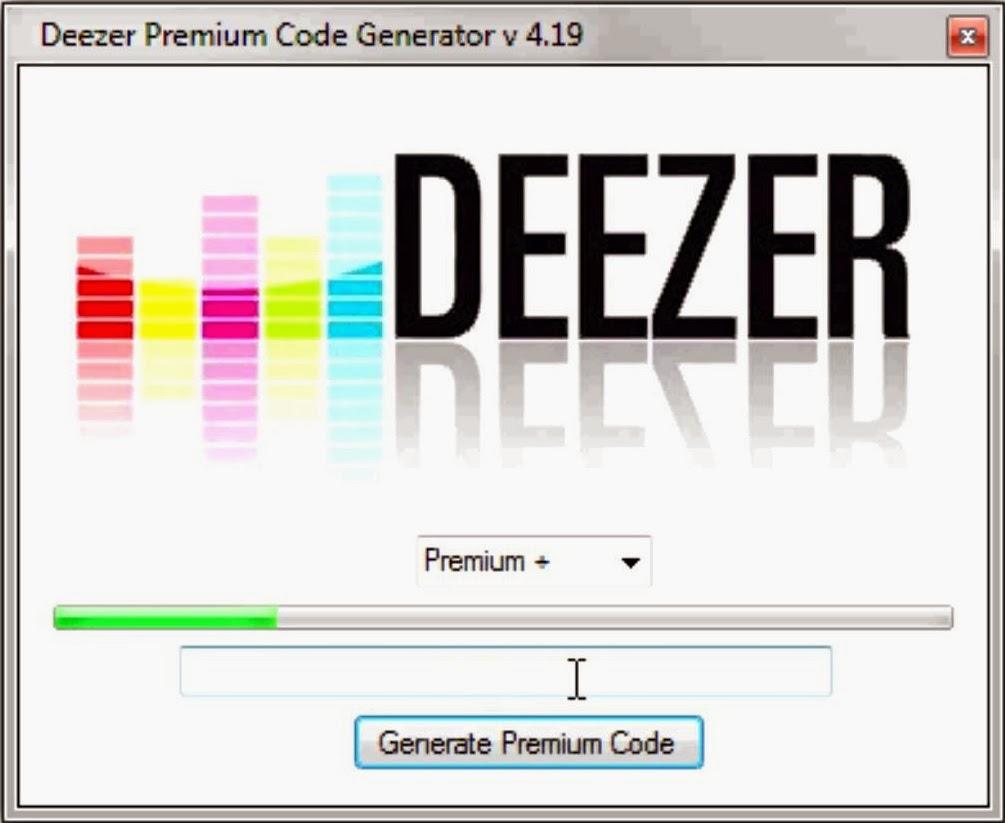 hack: Code Promo Deezer Generator