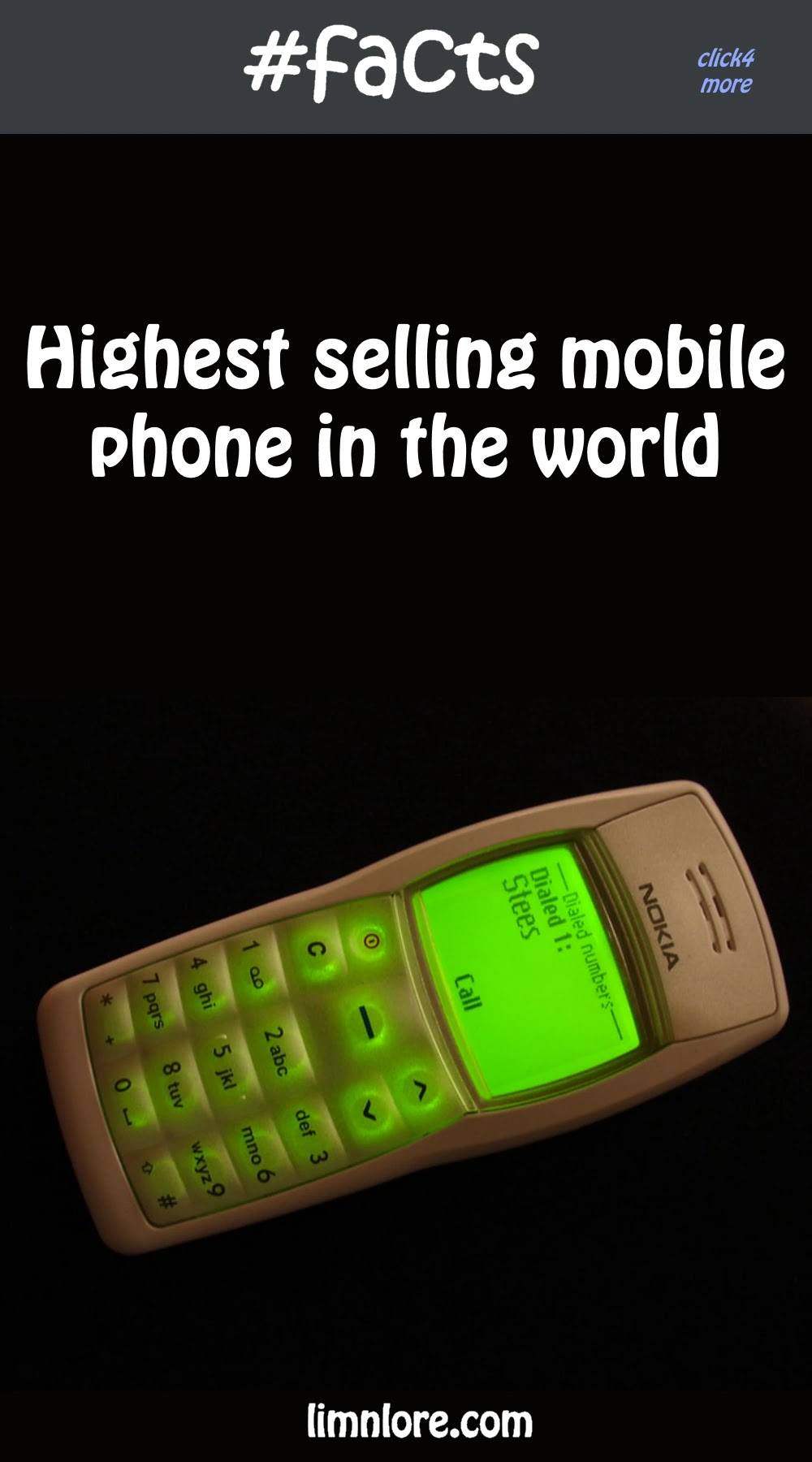 Do you know what is the highest selling phone in the world