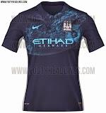 Berita bocoran jersey Manchester city away terbaru musim depan 2015/2016