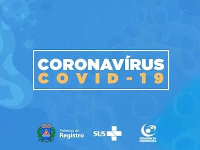 PLANTÃO Covid-19, dias 12 e 13 em Registro-SP