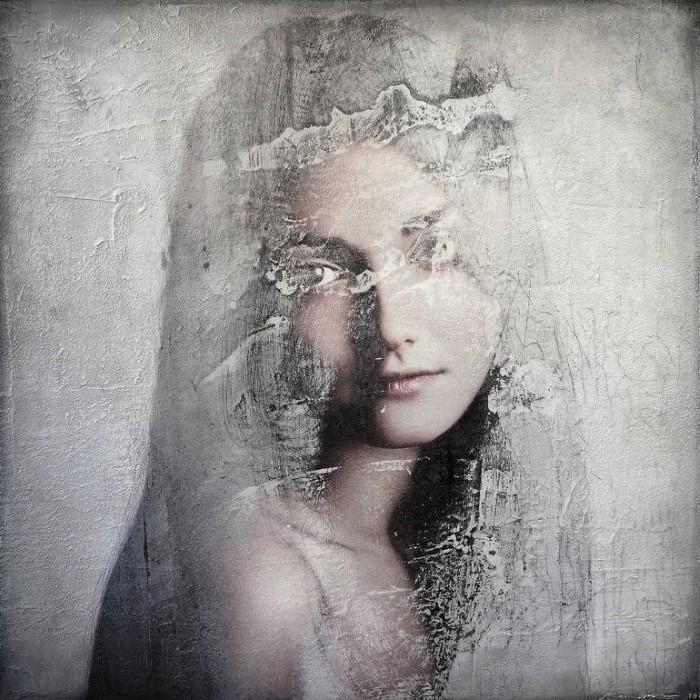 Реализм и абстрактные материи. Karin Vermeer