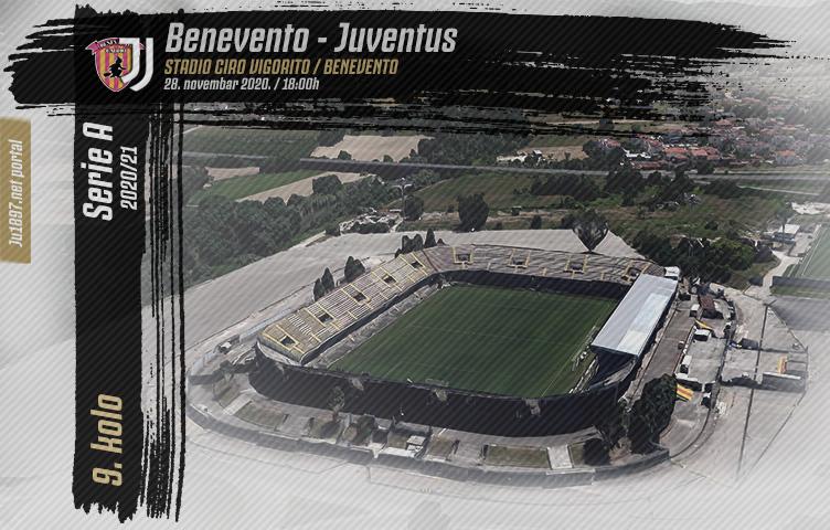 Serie A 2020/21 / 9. kolo / Benevento - Juventus, subota, 18:00h