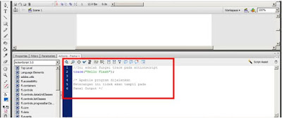 actionscript 3 di adobe flash cs3 comment