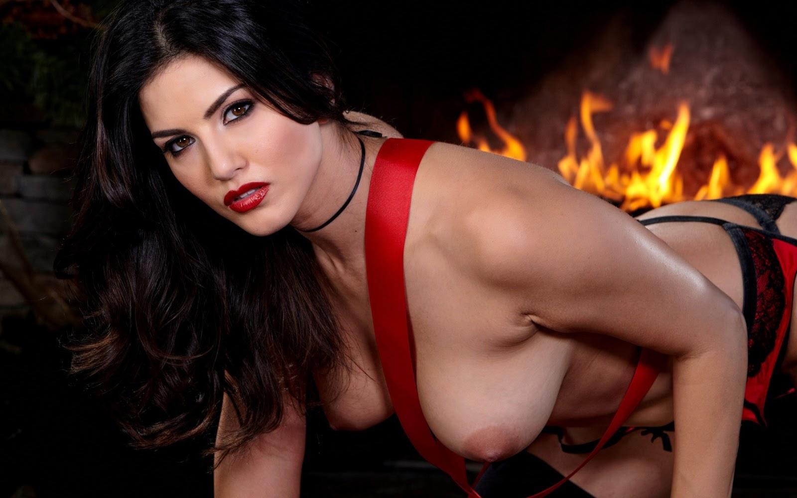 Sunny Leone  Natural Breast Girlfriend-3868