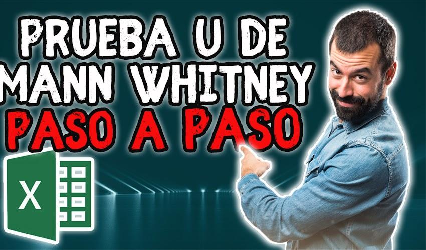 Prueba U de Mann Whitney en Excel 2020