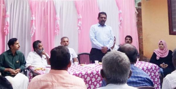 Kerala, News,Stone laid for Manu's house