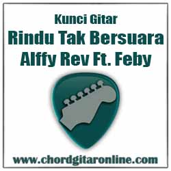 Bm Tiada lagi ku terka A Kabarmu  G    F Chord ALFFY REV - RINDU TAK BERSUARA Ft. FEBY PUTRI (Original Kord)