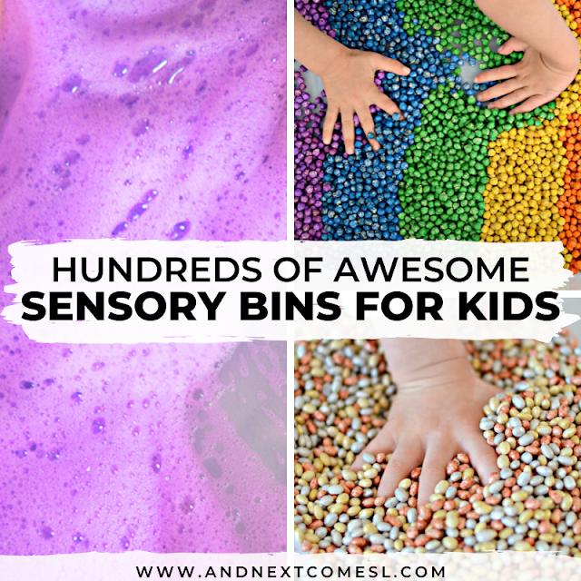 Sensory bins for kids