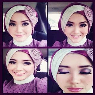 Contoh Model Hijab Untuk Pesta Kebaya