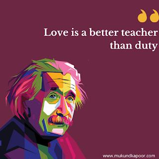 Einstein Quotes About Love
