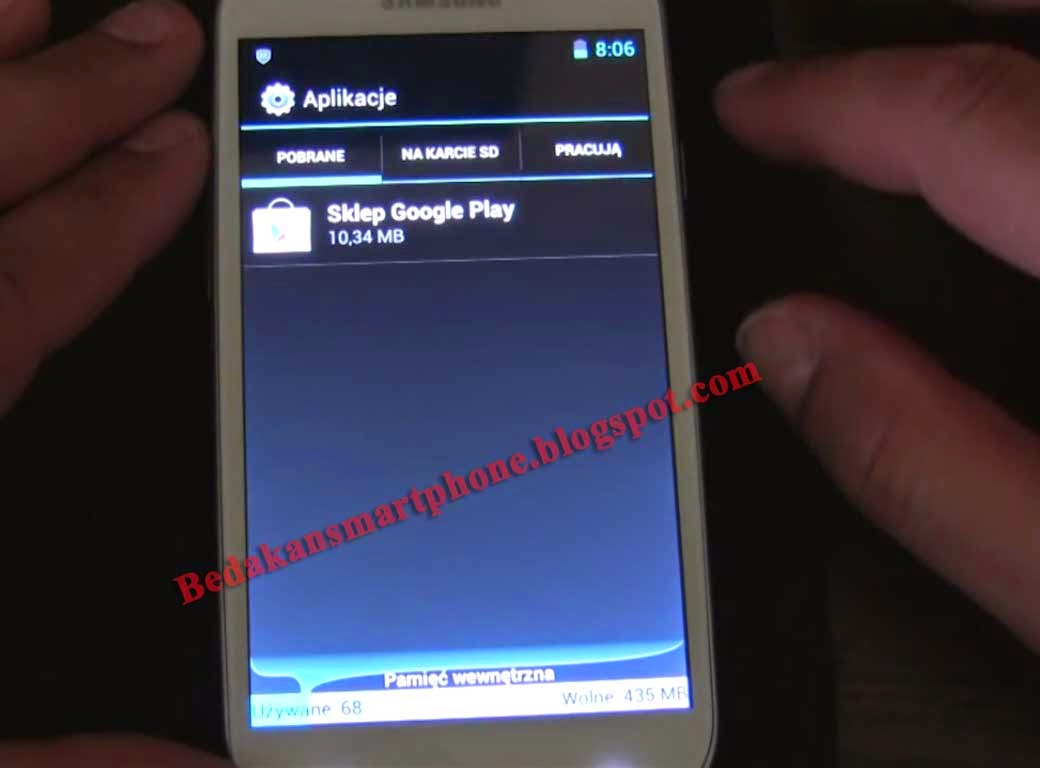 Lihat Kapasitas RAM yang Digunakan Samsung Galaxy S3 Palsu