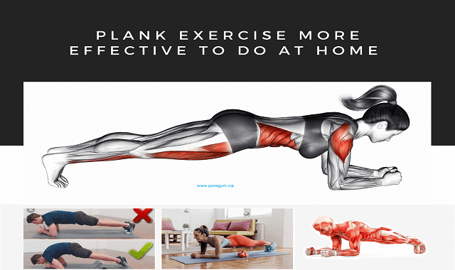 Plank Exercise More Effective To Do at Home