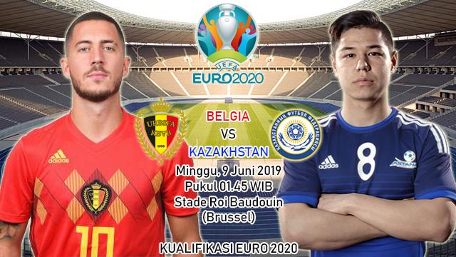 Prediksi Kualifikasi EURO 2020 Belgia vs Kazakhstan (9 Juni 2019)