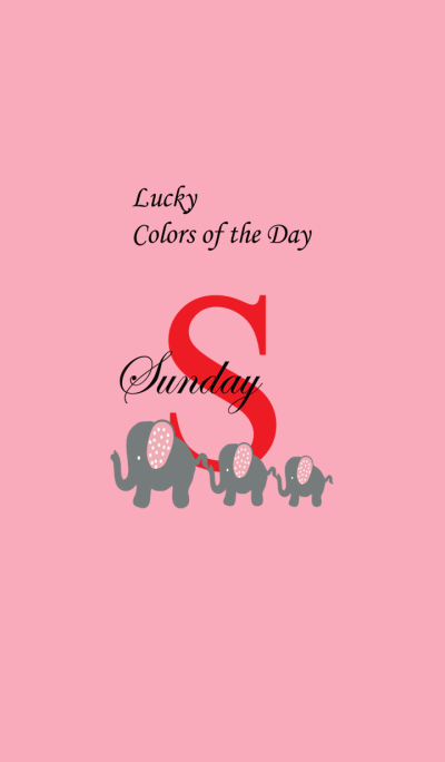 Lucky Colors of the Day_Sunday