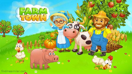 Farm Town: Happy Day Farming Game poster