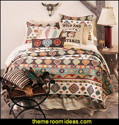 Wild and Untamed Bedding Collection southwestern bedding southwestern bedroom decorating