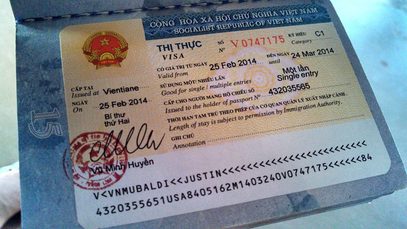 Como obtener el visado para viajar a Vietnam