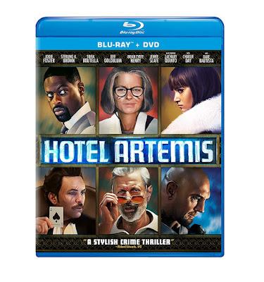 Hotel Artemis Blu Ray
