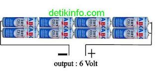 cara buat ces HP dengan baterai ABC
