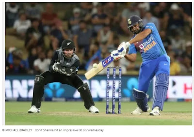 Sharma scored 80 runs as the UAE's Jinx in the IPL in Mumbai