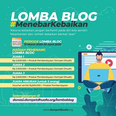 lomba blog dompet dhuafa 2020