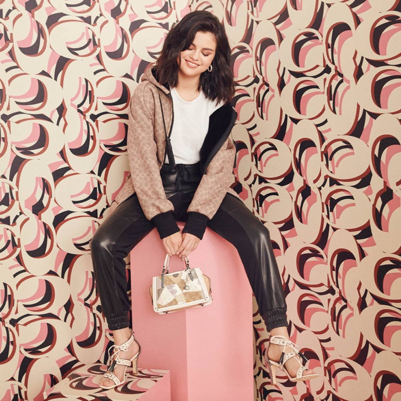 Selena Gomez – Coach Handbags