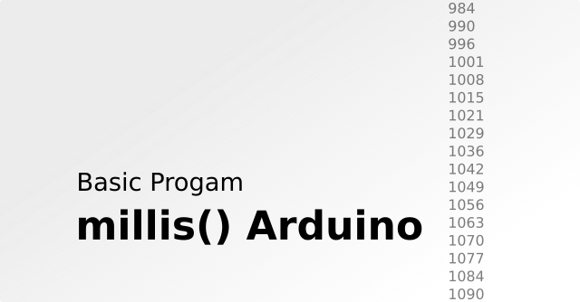 How to Use Millis on Arduino and Basic Programs