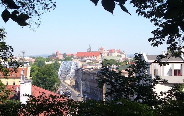 Kraków Park Bednarskiego
