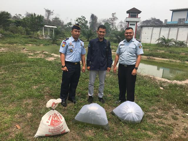 Penerimaan Bantuan Benih Ikan Tembakang