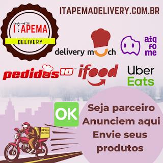 Itapema DELIVERY Peça comida online