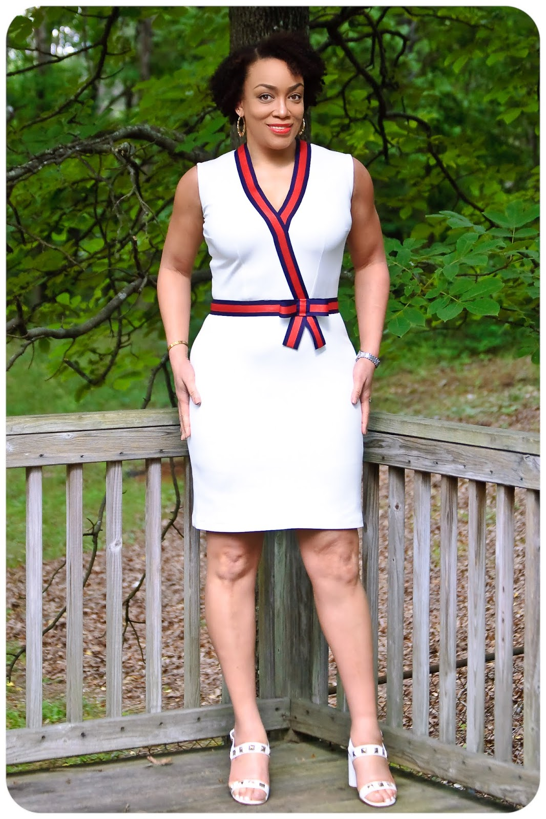 2dadf7133 I made this dress a while ago. My husband suggested it would be perfect to  save for the Memorial Day Weekend, based on the colors.