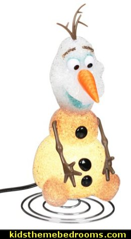 Disney Frozen Olaf EVA Lamp elsa frozen bedroom decor  olaf bedroom decor  elsa bedroom decor elsa frozen decor