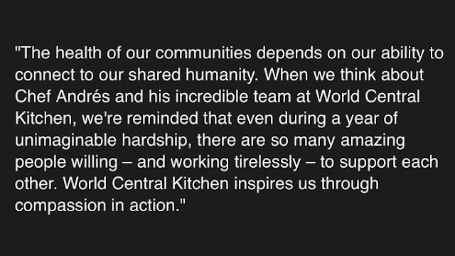 According to an article published on Bloomberg News Meghan and Harry have picked World Central Kitchen (WCK) as their first project under their Archewell Foundation.
