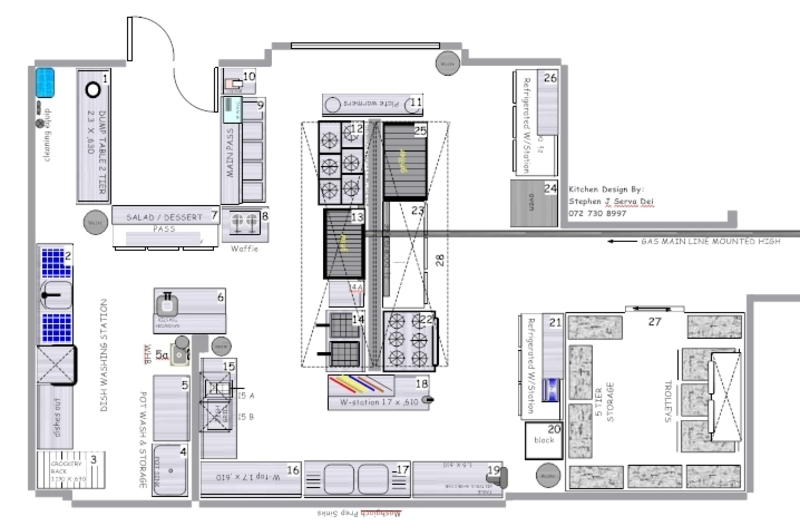 Small Kitchen Floor Plans Dimensions