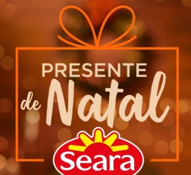 Cadastrar Promoção Presente de Natal Seara 2020 Valor de Volta