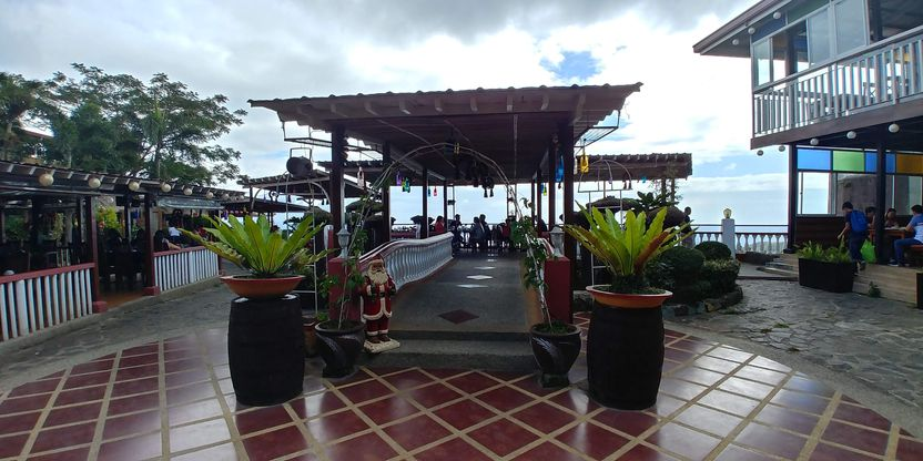 Central gazebo at RSM Lutong Bahay