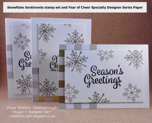 Snowflake Sentiments, Year of Cheer, Christmas
