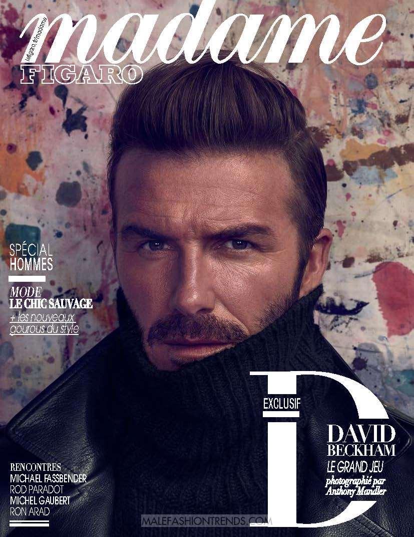 David Beckham por Anthony Madler para Madame Figaro