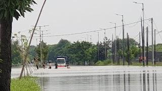 Status Banjir Sidoarjo Meningkat Jadi Darurat, Begini Teknis Penanganannya