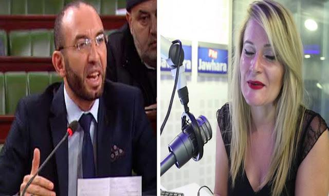 Cyrine Ben Saad clash mohamed affes