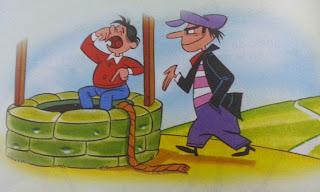 fabula el joven y el ladron