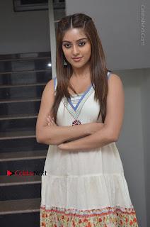 Telugu Actress Anu Emmanuel New Stills in Beautiful White Long Dress  0012.JPG