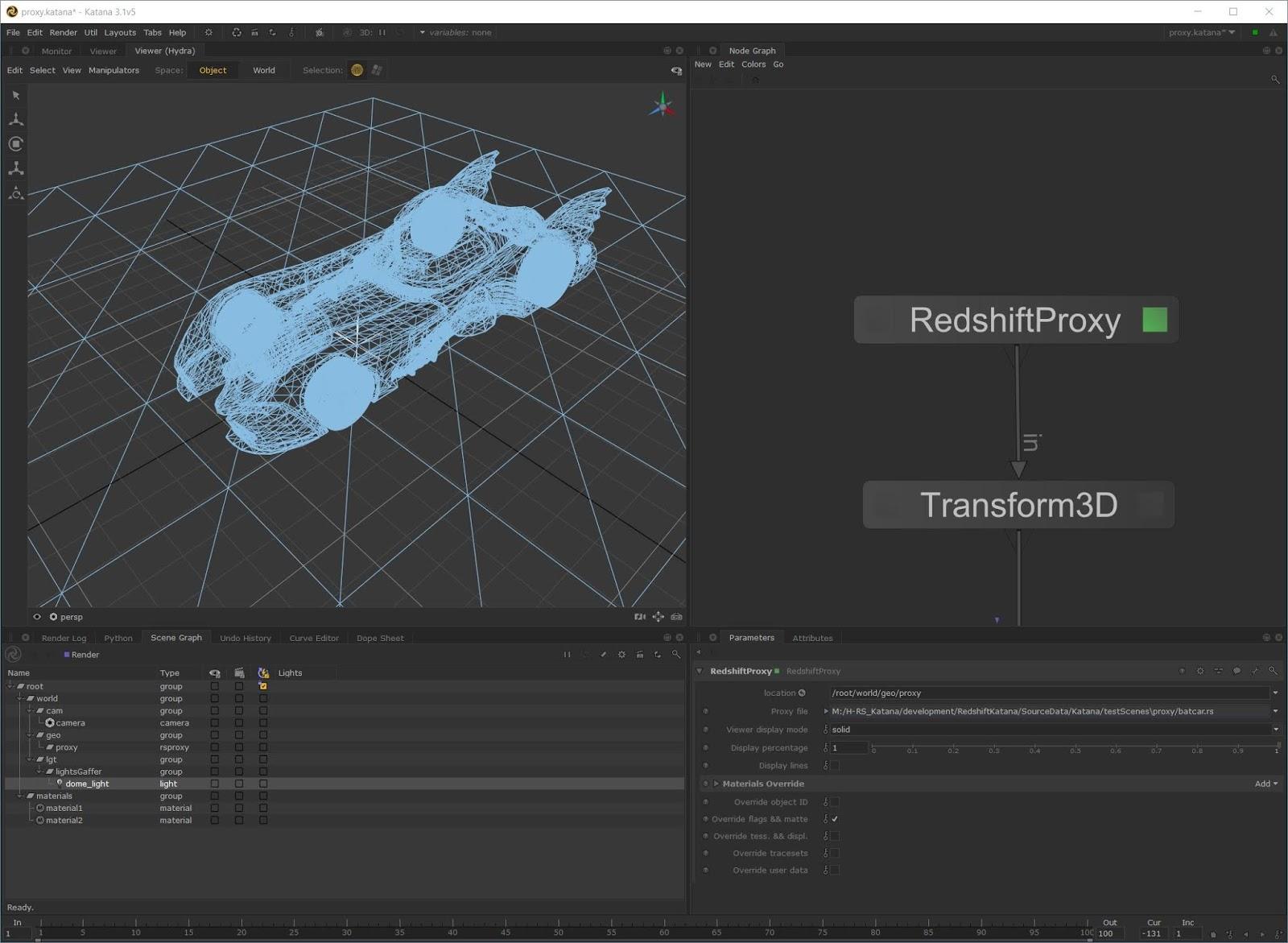 Redshift Developing Support For Pixar's Hydra Framework