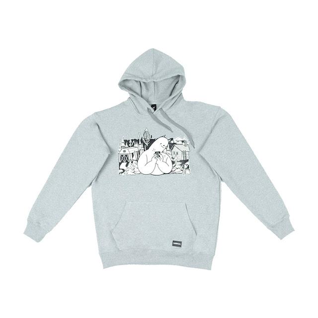 Nokia Signature Sweatshirt (Nokia Hoodie) Grey colour