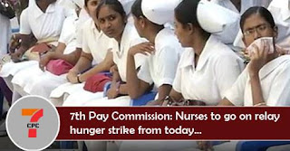 7th-Pay-Commission-strike-nurse-7thCPC