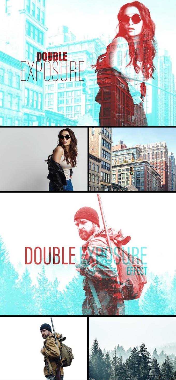 Double Exposure Effect Mockup 383348933