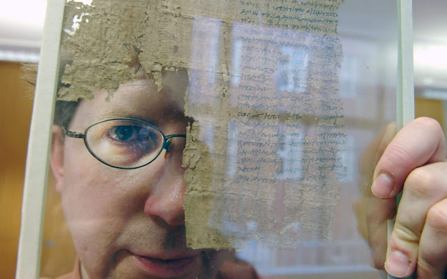 Oxyrhynchus papyri sold by renowned professor to Hobby Lobby