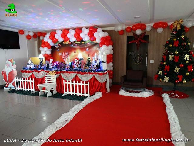 Decoração Festa de Natal